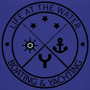 Life at the water - boating and yachting - Teenage Premium T-Shirt