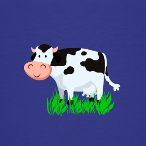 Vache Vector Cartoon - T-shirt Premium Ado
