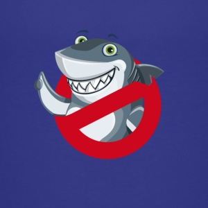 hai comic no verbot lustig kinder NO HAI fisch sym - Teenager Premium T-Shirt