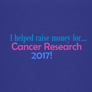 CANCER RESEARCH 2017! - Premium-T-shirt tonåring