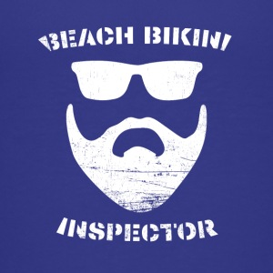 Beach Bikini Inspector - Teenage Premium T-Shirt