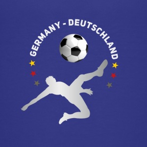 Football fall crushers goal Germany champion tea - Teenage Premium T-Shirt