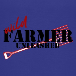 Farmer / Landwirt / Bauer: Wild Farmer Unleashed - Teenager Premium T-Shirt