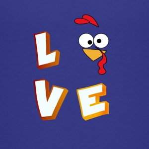 love turkey comic liebe fancy kids Buchstaben - Teenager Premium T-Shirt