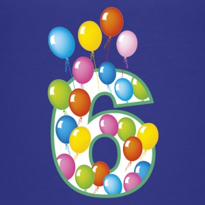 Sixth Birthday 6 - Teenage Premium T-Shirt