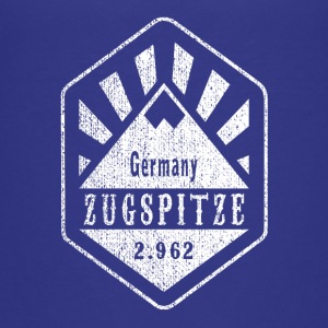 Zugspitze coat of arms - white - Teenage Premium T-Shirt