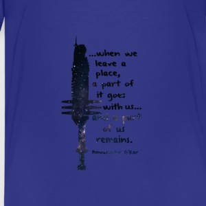 When we leave a place... - Teenage Premium T-Shirt