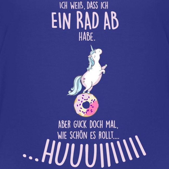 Vorschau: rad ab_einhorn - Teenager Premium T-Shirt