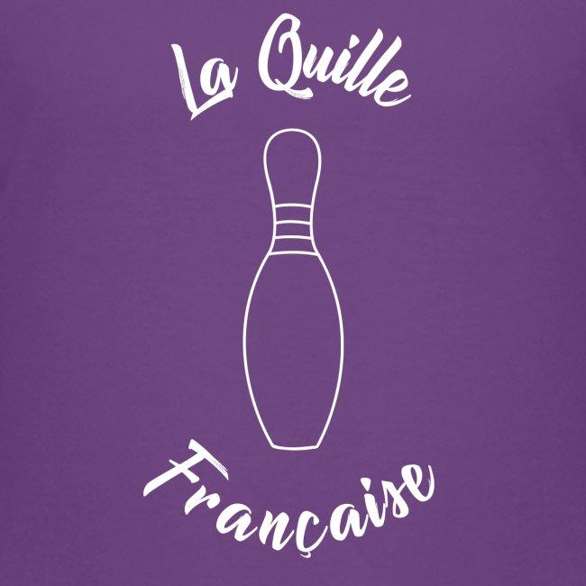 La quille Française Simple Blanche