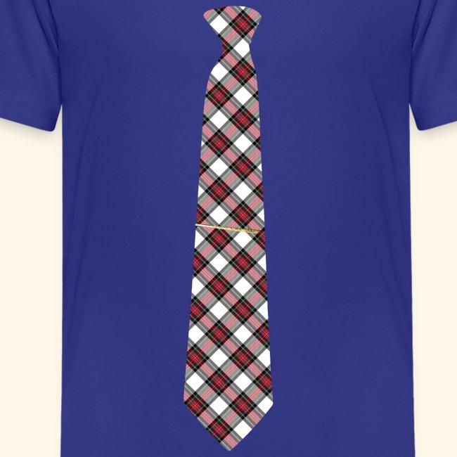 Krawatte 125 mit Goldnadel