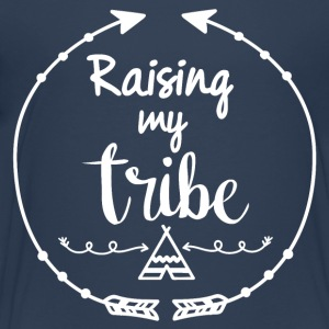Raising my tribe - Teenager Premium T-Shirt