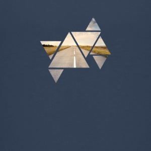 Triangle Road - Teenage Premium T-Shirt