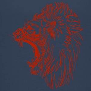 screaming angry lion red - Teenage Premium T-Shirt