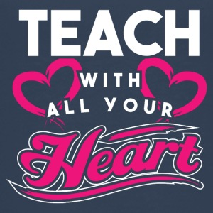 Teacher! Full of Passion! With heart! - Teenage Premium T-Shirt