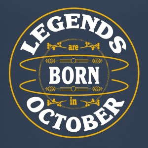 Birthday October legends born gift birth - Teenage Premium T-Shirt
