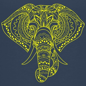 ELEPHANT HEAD yellow - Teenage Premium T-Shirt