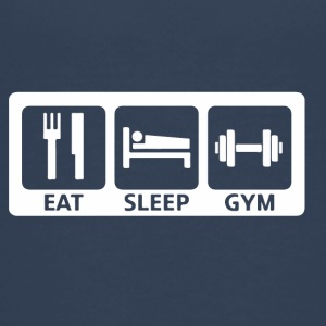 Eat Sleep Gym - Teenage Premium T-Shirt
