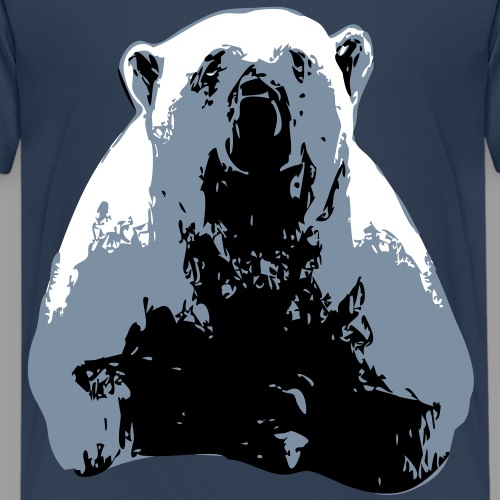 pauvre ours blanc - T-shirt Premium Ado