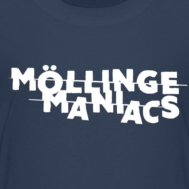Möllinge Maniacs Vit logga