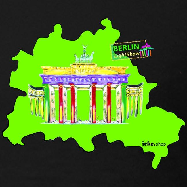 Berlin Original Umriss PopArt ickeshop BachBilder