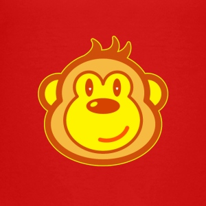 Cute monkey - Teenage Premium T-Shirt