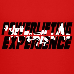 Powerlifting EXPERIENCE - Teenage Premium T-Shirt
