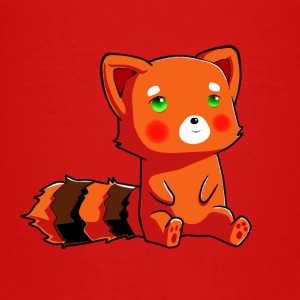 Orange racoon - Teenage Premium T-Shirt