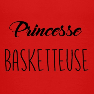 Princess basketteuse - Teenage Premium T-Shirt