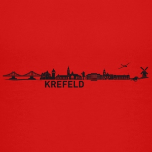 Krefeld skyline - Teenage Premium T-Shirt