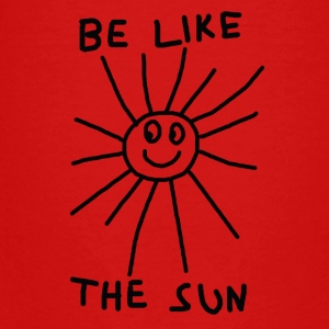BE LIKE THE SUN - Teenager Premium T-Shirt