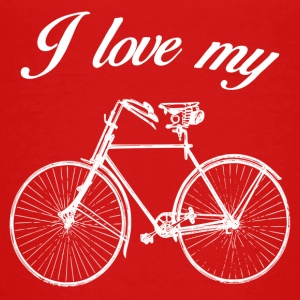 BIKE LOVE - Teenage Premium T-Shirt