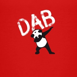 Panda dab badda hiphop Football Dance LOL touchd - Premium-T-shirt tonåring