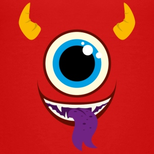 Monster Face Pet - Teenage Premium T-Shirt