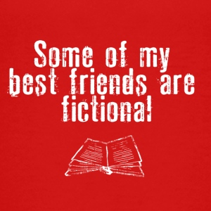 FICTIONAL FRIENDS - Teenage Premium T-Shirt