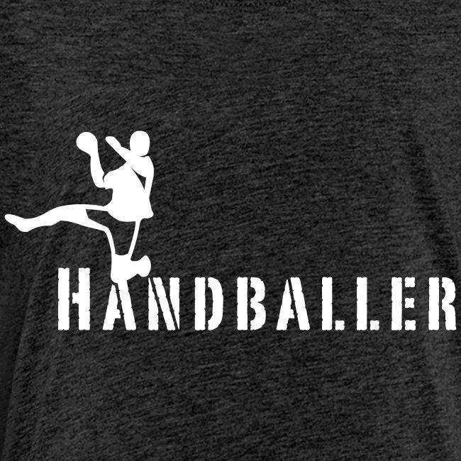 Handballer Schriftzug