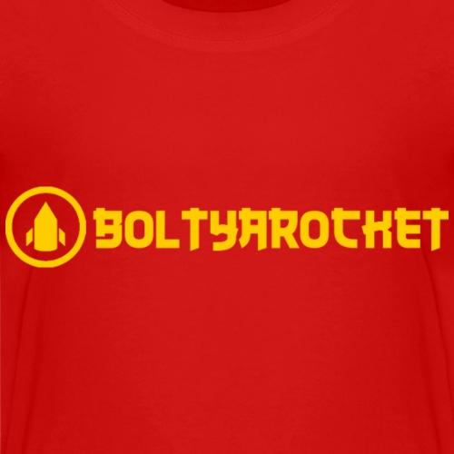 Bolt Ya Rocket - Teenage Premium T-Shirt