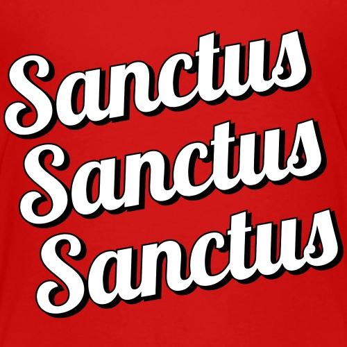 Sanctus Sanctus Sanctus - Teenage Premium T-Shirt