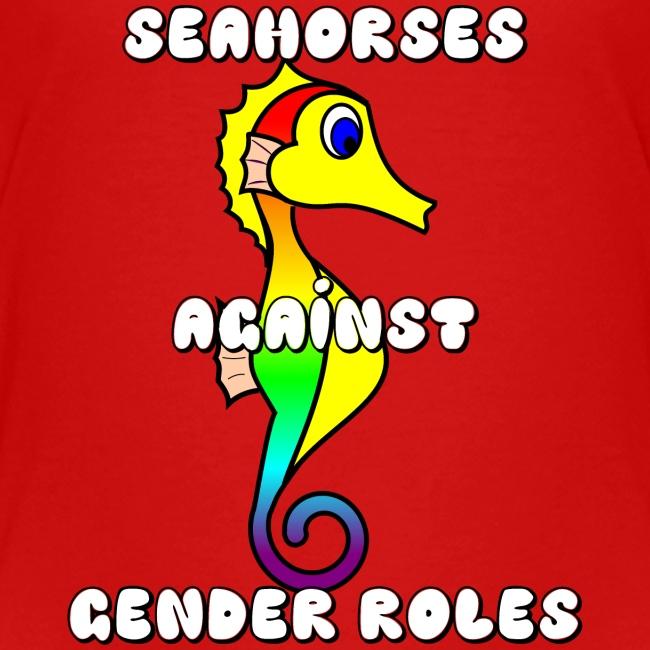Seahorses against gender roles