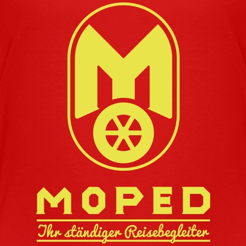 Moped - your constant travel companion - Teenage Premium T-Shirt