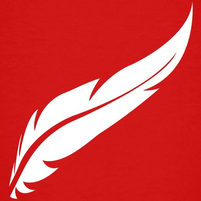 logo plume white