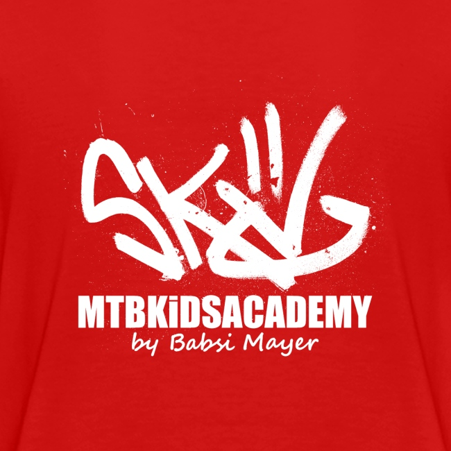mtb kids academy4 white