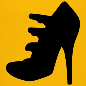 Vector highheels Silhouet - Teenager Premium T-shirt