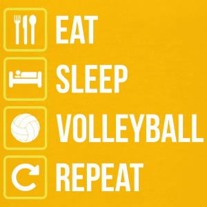 Eat Sleep Volleyball Repeat - Teenager Premium T-Shirt