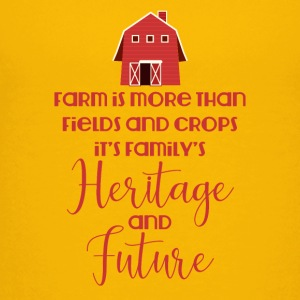 Farmer / Farmer / Farmer: Farm is more than field - Teenage Premium T-Shirt