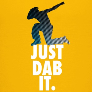 just dab it dabbing Dance Football touchdown Sports - Teenage Premium T-Shirt