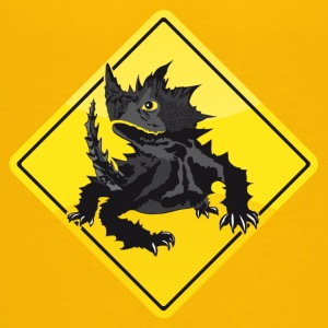Australia Roadsign Thorny Devil - Teenage Premium T-Shirt