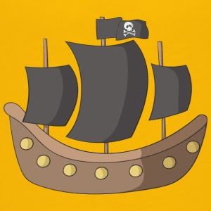 pirate ship - Teenage Premium T-Shirt