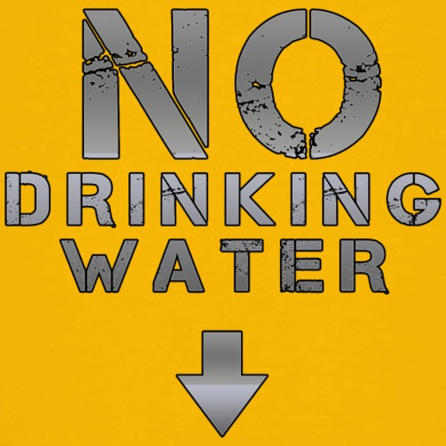 no drinking water - Teenager Premium T-Shirt