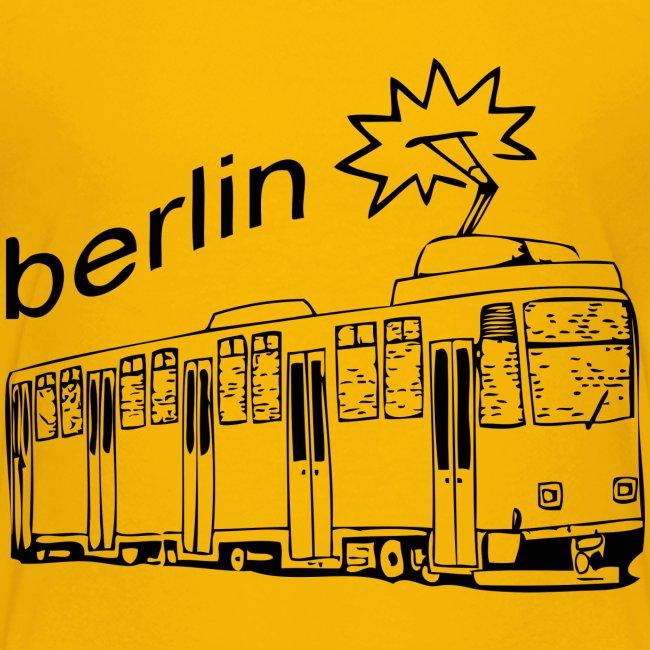 Tram Stadt Berlin Deutschland Geschenk Idee