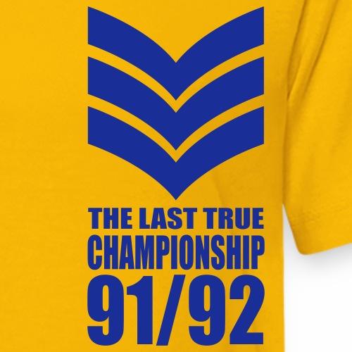 LAST CHAMPIONSHIP - Teenage Premium T-Shirt